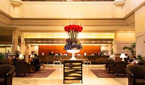 ホテル館内装飾